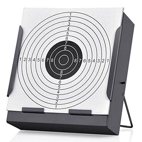 14 14cm Zielscheiben Halterung + 100 Ziele Luftgewehr Kugel Falle Schießen Airsoft - Halterung, Holder