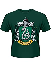 Plastic Head Harry Potter Slytherin - T-shirt - Col Montant - Manches Courtes - Homme