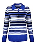 Paola Damen Pullover mit Polokragen
