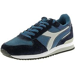 Diadora 101.172314 - Zapatillas de Gimnasia de Material Sintético Hombre blue marine Medium