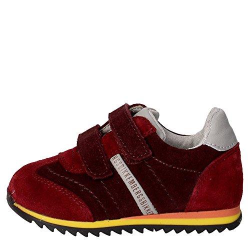 Bikkembergs BKP102330 Sneakers Boy Bordeauxrot