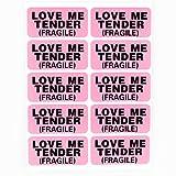 Love Me Tender Aufkleber, 1x2