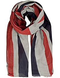 Capelli New York Crinkle Schal 'UNION JACK'