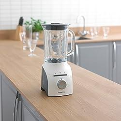 Kenwood BLP610 WH Blender Classique Blanc/Gris 18 x 16 x 37 cm