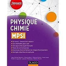 Physique-Chimie MPSI (J'assure aux concours) (French Edition)