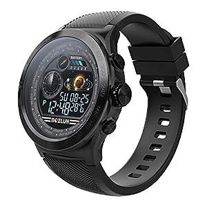 Reloj Inteligente,Reloj Inteligente Hombre Mujere Pulsera Actividad Multifuncion Color Monitor,Monitor de Calorías, Sueño para Android y iOS