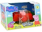 Gioca con la fantastica macchina di Peppa Pig.Spingi la macchina e guarda come oscilla! adatta a tutti i bambini che amano questa adorabile maialina...