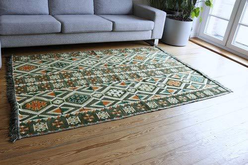 Damask unst 200x 135cm orientale tappeto, kelim, kilim, carpet, tappetino, pavimenti, rug nuovo s 1-4-411
