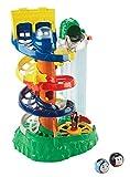 Fisher-Price Spielzeug–My First Thomas und Freunde–Schiene Rollen Spirale Station mit Thomas und Diesel