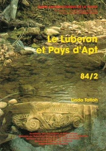 Carte archéologique de la Gaule. Le Luberon et Pays d'Apt : 84/2