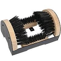 New Heavy Duty Outdoor Boot Shoe Trainer Clean Door Step Brush Scraper Clean Mud