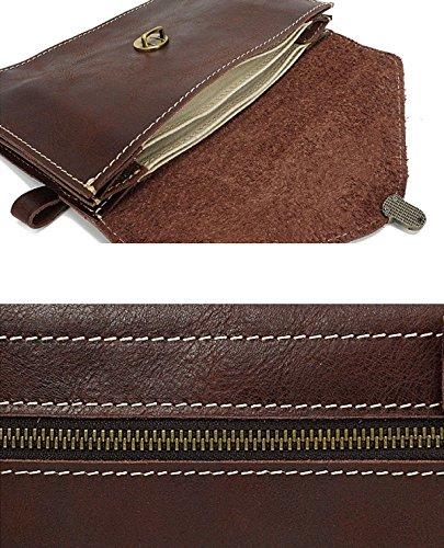 Damen Vintage Umhängetasche Weichem Leder Cross Body Messenger Bags Für Frauen Handtaschen Smart Casual Mädchen Satchel Aktentasche Coffee