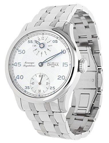 Davosa Swiss Herren Armbanduhr Regulator silber 16040716-59911
