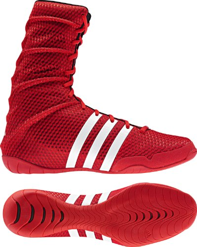 Adidas Boxing Für Schuhe (adidas Schuhe Adipower Boxing, core engergy/black/white, 7.0, V24371)
