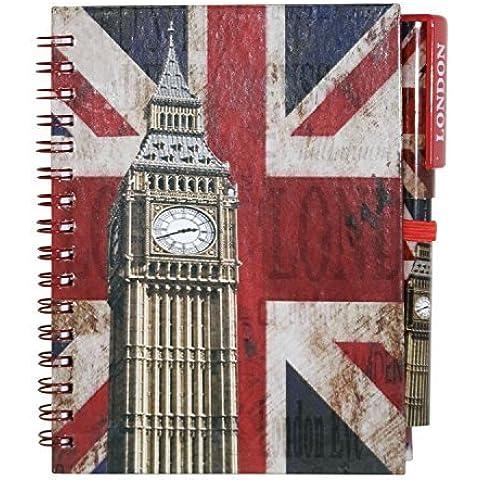 Londres Souvenir bloc de notas con lápiz. Ideal regalos.