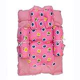 #5: 0Month+ Baby Bedding Set Cartoon Character Cotton Baby Mattress Gadda with Pillow
