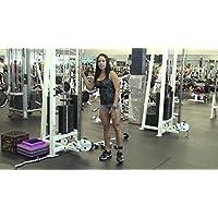Ultra FITNESS caviglia D-Ring Strap Multi Palestra attacco cavo gamba coscia fianchi & # X2726; per massimo glutei allenamento & # X2726; esercizio macchine Puleggia Sollevamento Pesi, Body Building allenamento (4colori),