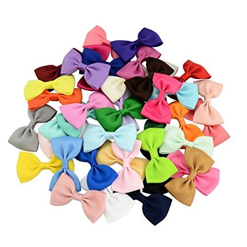 ecycr-40pcs-40colors-barrettes-colorees-pour-enfants-bebes-ruban-ruban-a-cheveux-accessoires-pour-ch