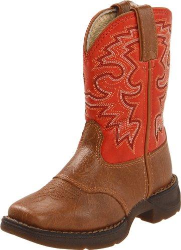 Durango Boots Bottes Lil 'durango Kids Enfants Western Bottes d'équitation (en différentes variantes) Tan Orange