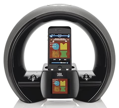 JBL On Air wireless iPhone/iPod Dock (Air Play) schwarz