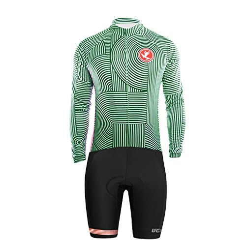UGLYFROG Bike Wear 2018 #03 Radsport Bekleidung Skinsuit-Short Legs Herren Trikots & Shirts Long Sleeve Jersey