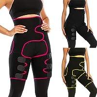 مشد خصر للنساء من اكستوام، مشد فخذ عالي الخصر للنساء، مشد جسم للساقين والمؤخرة من النيوبرين، حزام تنحيف الخصر والجسم X-Large
