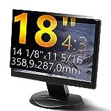 Xianan 18 Zoll Standardbildschirm 4:3 Displayfilter Bildschirmfilter Blickschutzfilter Blickschutzfolie Blickschutz Sichtschutz 14,13x11,3zoll/358,9X 287mm