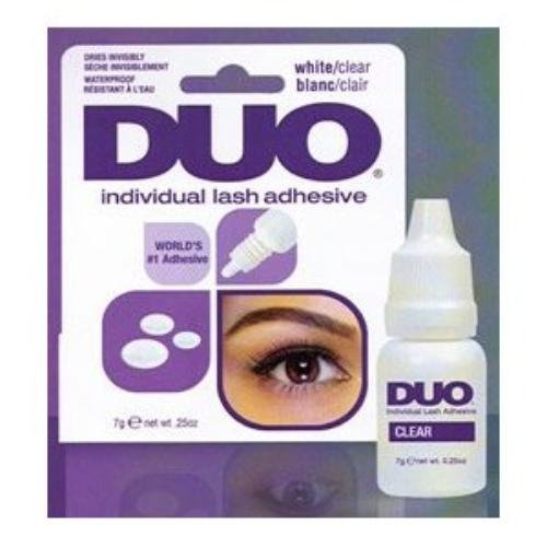 Duo Individual Lash Adhesive, Clear, 0.25 Ounce by Duo - Duo Lash