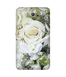 White Roses Sony Xperia E4 Case