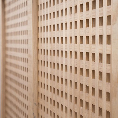 Nordic Heizkörperverkleidung 92,5Cm – Holz – 92x18x78 cm – Farbe Natur - 4