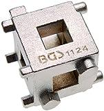 BGS Bremskolben-Rückdrehwürfel, 10 mm, 3/8 Zoll Antrieb, 1124