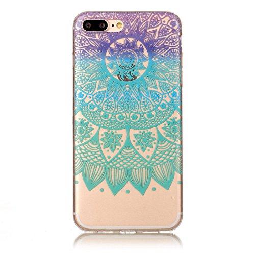 Yaking® Apple iPhone 7 Plus Coque Silicone TPU Case Cover Gel Étui Housse pour Apple iPhone 7 Plus 8-F