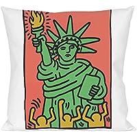 Lenzuola Keith Haring Matrimoniali.Amazon It Keith Tessili Per La Casa Casa E Cucina