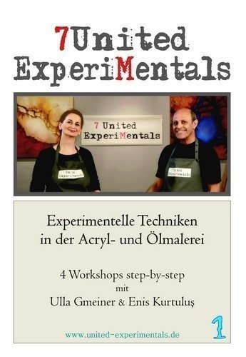 Experimentelle Techniken in der Acryl- und Ölmalerei, DVD 1 / Vier Workshops step-by-step
