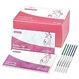 50 pruebas de ovulación ultrasensibles (25 mlU/ml) y 20 pruebas de...
