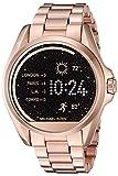 Michael Kors Best Deals - Michael Kors Access Touch Screen Rose Gold Bradshaw Smartwatch MKT5004