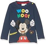 Disney 160694, Camiseta Para Bebés, Marron (Marron Foncé Bleu Jean), 12 Meses (Talla del...
