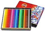 Unbekannt Polycolor Künstlerfarbstifte, 24 Farben