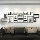 ZPQ Fotowand Foto Wand, große Wand Massivholz Foto Wand, Rahmen Wand, Wohnzimmer Wand, (Farbe : 1#)