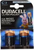 Duracell Ultra Power Alkaline Batterien mit Powercheck C (MX1400/LR14) 2er Pack