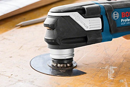 Bosch Professional Akku Multifunktionswerkzeug GOP 18 V-28 ohne Akku, L-BOXX 136 (18 Volt, Oszillationswinkel: 1,4° , Gewicht: 1,6kg)