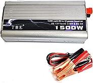 انفرتر 12 فولت الي 220 فولت (1500 واط ) .يعمل علي بطاريه سياره او بطاريه 12 فولت اعتياديه