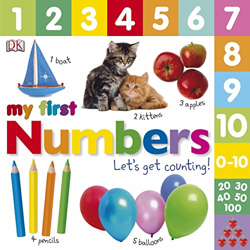 Numbers Let's Get Counting (My First Board Book) por DK