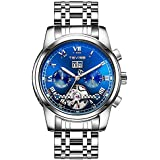Tevise Casual Watch For Men Analog Stainless Steel