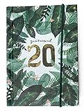 Taschenkalender 2020: Grün (Taschenkalenderbuch) - Jenny Boidol