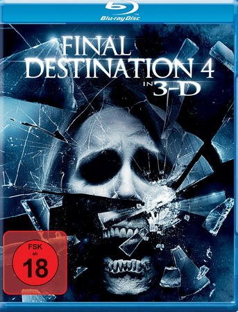 Final Destination 4 (inkl. 3D-Version des Films + zwei 3D Brillen) [Blu-ray]