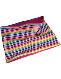 Loop Schal für Kinder, ausgefallenes Babygeschenk - hübscher Schlauchschal + praktischer Halswärmer Baumwolle - Loop Schal in verschiedenen Farben - Geschenke für Babys