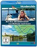 Wunderschön! - Mit dem Tret-Hausboot über die Ruhr: Von Mülheim nach Essen [Blu-ray]
