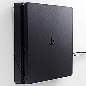 Wandhalterung für PlayStation 4 Slim von FLOATING GRIP® Zum Patent angemeldet durch FLOATING GRIP ApS – Made in Dänemark