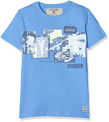 garcia-kids-jungen-t-shirt-e73400-blau-waterjet-2273-164-herstellergrosse-164-170